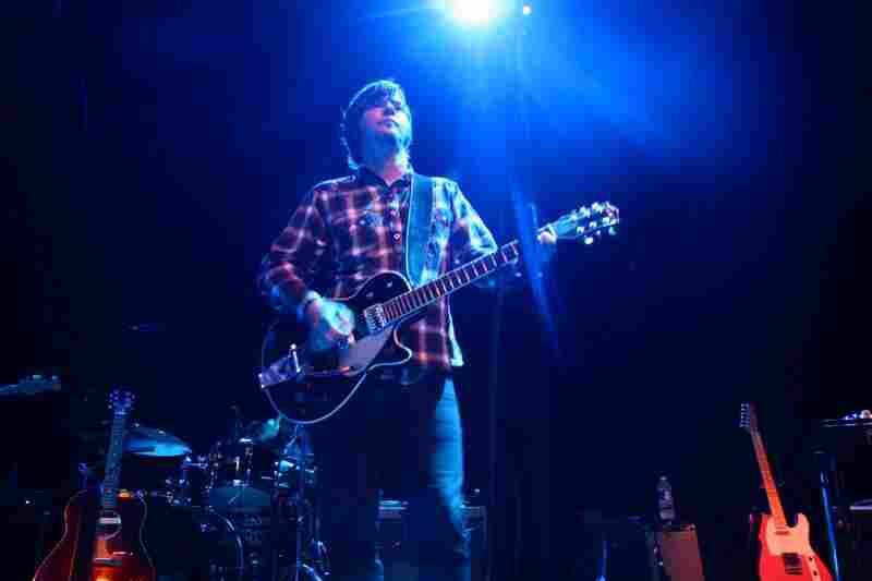 Benjamin Gibbard and Jay Farrar, performing live at the 9:30 Club in Washington, D.C.