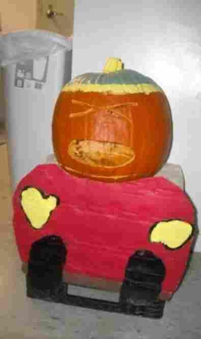 Cartman Pumpkin by Brittney