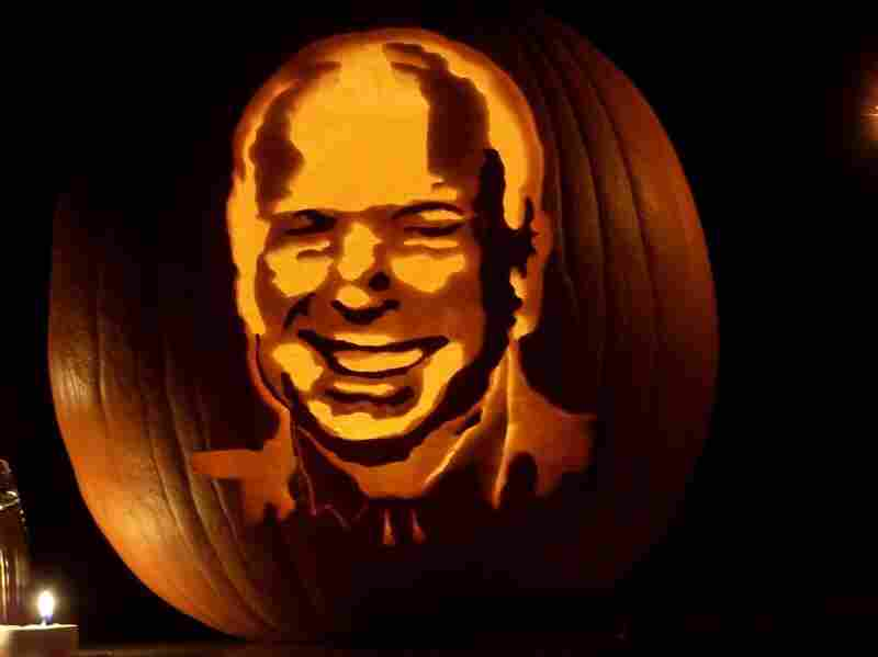 A glowing John McCain submitted by Peter O'Connell.