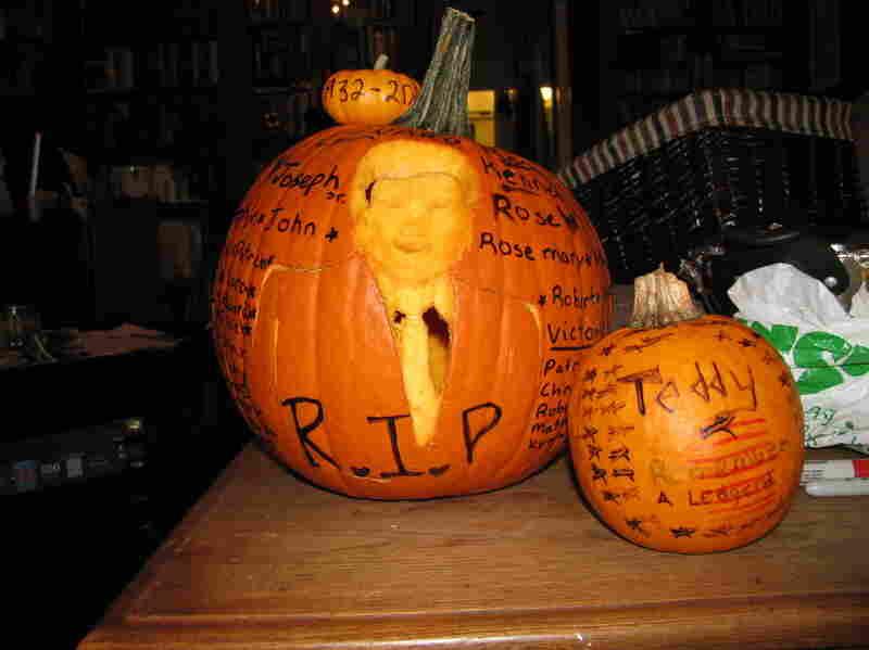 Teddy Kennedy Memorial Pumpkins by Paula.