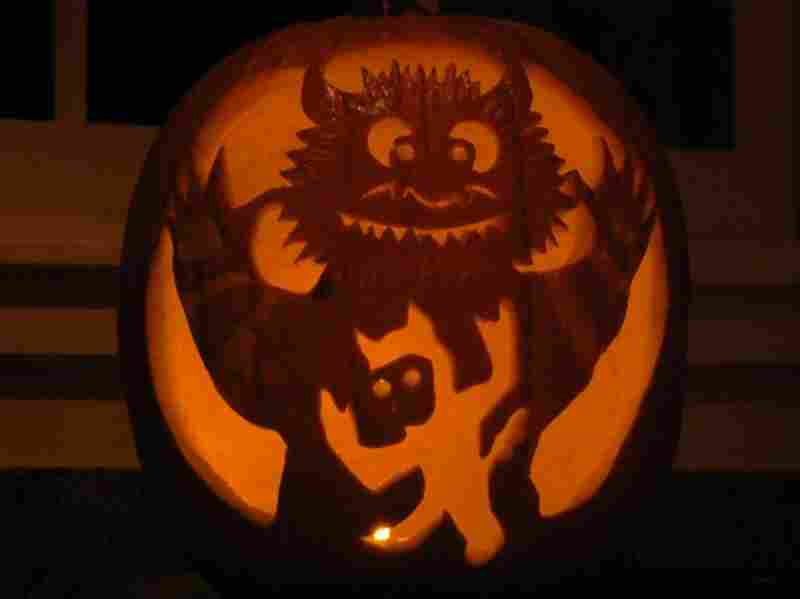 """""""Where the Wild Things Are"""" Pumpkin by Victoria."""