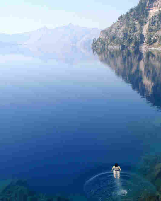 On a trip to Crater Lake National Park