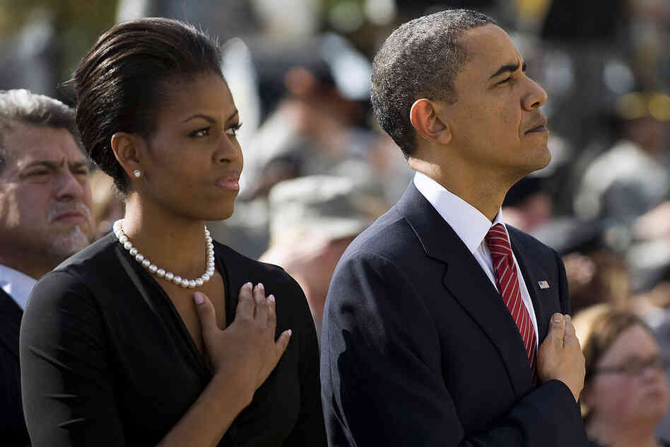 During the memorial service, President Obama named each of the 13 who died and shared personal stories about them and