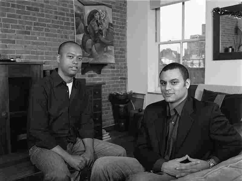 Mikle and John McBride (brothers). Mikle: half African-American, half Korean. John: half African-American, half Syrian. New York, N.Y.