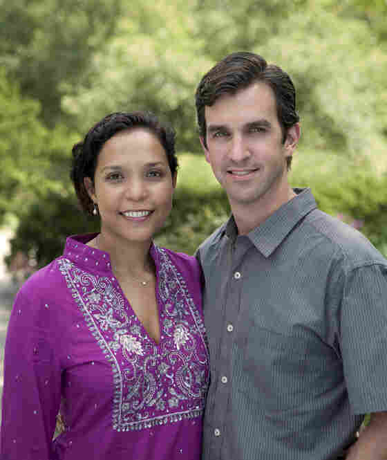 Photographer Mike Tauber and the book's co-producer Pamela Singh.