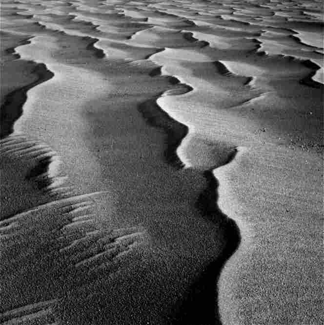 "Meridiani Planum, home to the Opportunity rover, is a vast plain dominated by 8- to 12-inch sandy dunes and ripples that go on and on for as far as the rover's ""eyes"" can see."