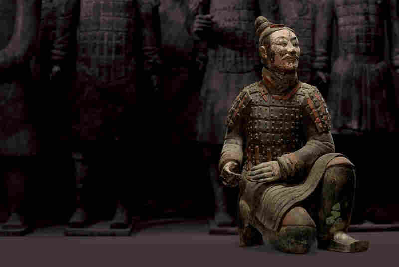"Curator Al Dien remembers the moment he saw his first terra cotta warrior, in China in 1977. ""As we rounded a corner, there was, on display, the kneeling archer,"" he says. ""I was so excited that the people accompanying us insisted I sit down. They thought I was going to have some sort of heart attack."""