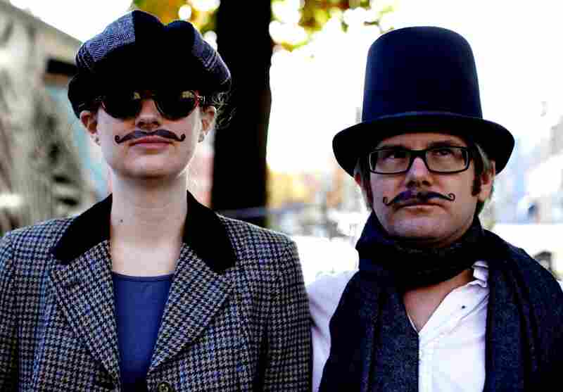 Mustaches were extremely popular among the D.C. tweed riders who gathered Sunday for a dandy ride through the city.