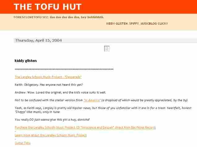 The Tofu Hut