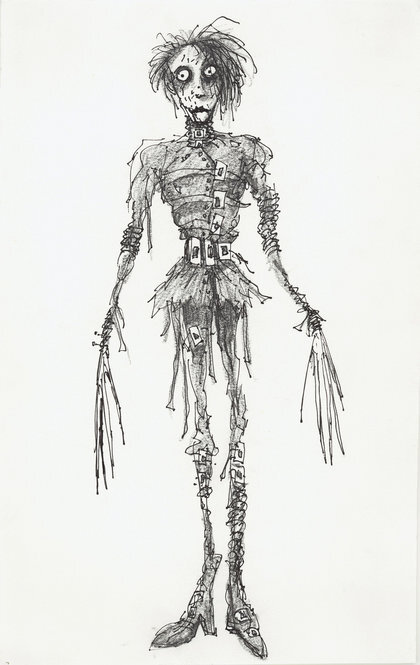 tim burton untitled edward scissorhands 1990