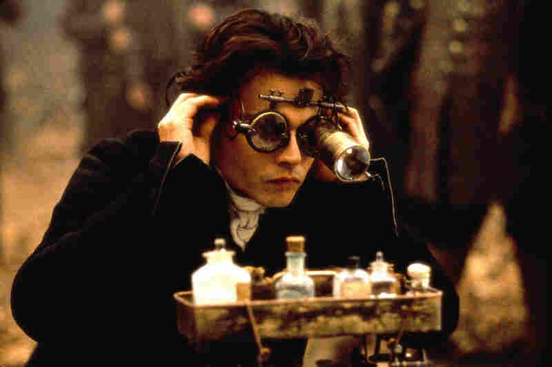 Johnny Depp in Sleepy Hollow, 1999, directed by Tim Burton