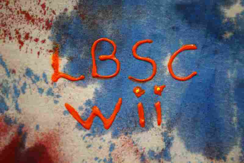The participants made matching tie-dyed bowling T-shirts with the initials of the team's name – LBSC Wii (Langston-Brown Senior Center) – emblazoned on them.