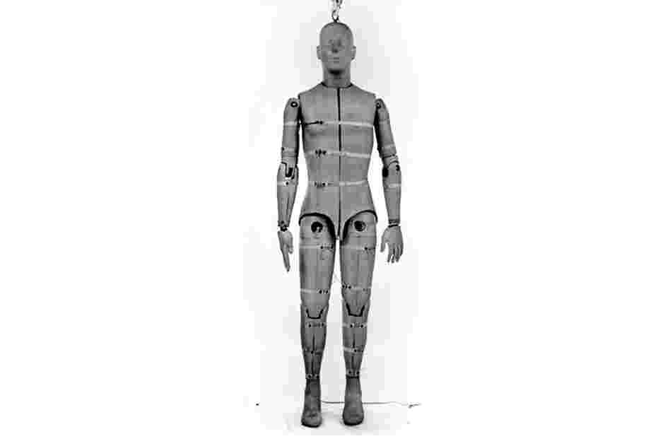 Sierra Sam, the first crash test dummy, was created in 1949. Sam was what is known as a 95th percentile male dummy, meaning he weighed more and was taller than 95 percent of the male population.  Sam was contracted by the U.S. Air Force and built by Sierra Engineering to test aircraft ejection seat systems.