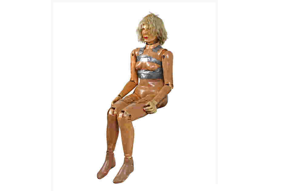 Sierra Susie was developed in 1970.  Susie was the most realistic dummy to date.  She wore a wig and was a 5th percentile female dummy — weighing 104 pounds and measuring 30.9 inches tall when seated. Crash test dummies are not designed to stand unsupported, as they are usually confined to the seated position.
