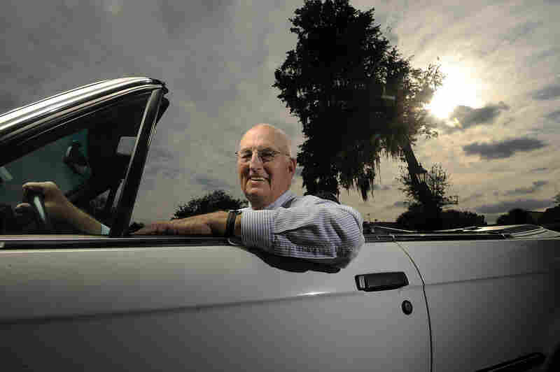Thad Seymour, 81, helps the Orlando, Fla., community by offering seniors a lift. He serves as a driver and board member of Independent Transportation Network (ITN) Orlando, a co-op that assists seniors with their transportation needs, taking members wherever they need to go for less than the cost of a taxi ride.