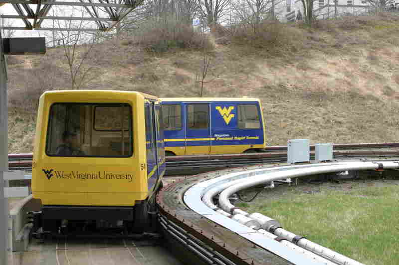 The West Virginia University campus in Morgantown features the first personal rapid transport system in North America.