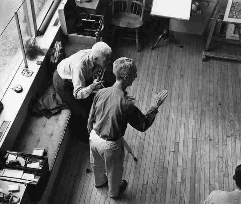 With hundreds of photographs from behind the scenes, most never before seen, Kalischer's archive is a gold mine of cultural history. Rockwell would tell the photographer exactly how to compose the picture, but would never click the shutter himself — perhaps a point of contention for an independent artist-photographer like Kalischer.