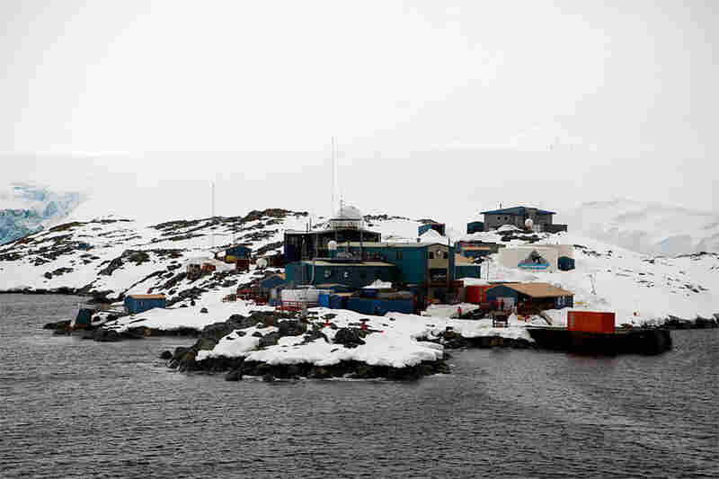 Located on the Antarctic Peninsula, Palmer Station is the U.S. Antarctic Program's smallest year-round research station.