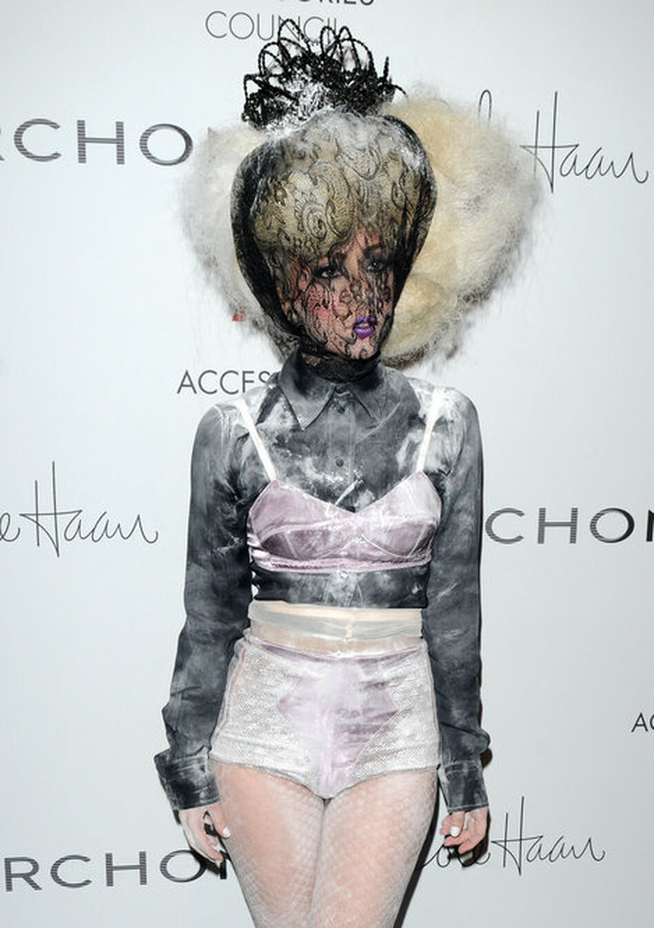Lady Gaga attends the Ace awards on Nov. 2 in New York City.