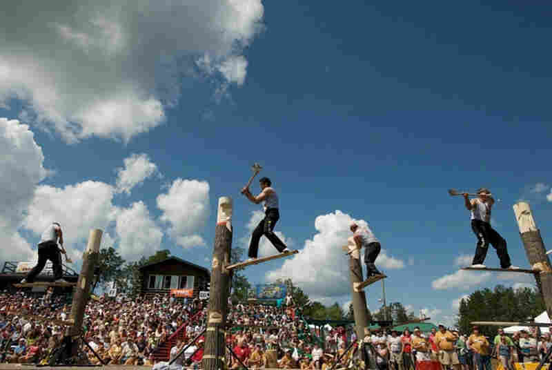 50th World Lumberjack championships in Hayward, Wis.