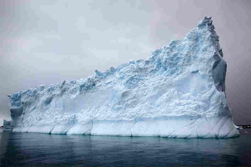 """""""Slice-of-pie iceberg"""""""