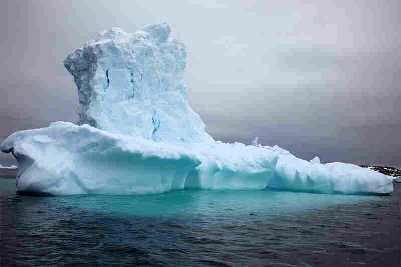 """""""Top hat iceberg"""""""