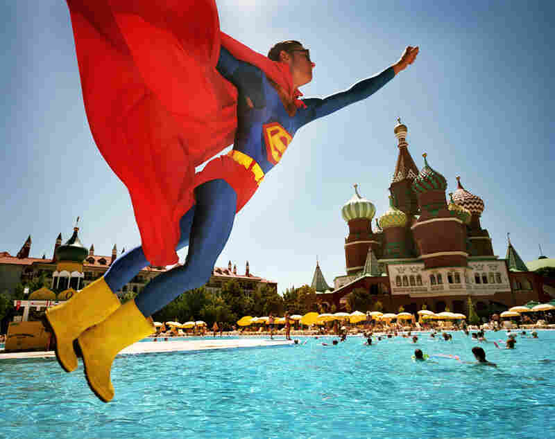 Superman over Red Square, Turkey, 2006