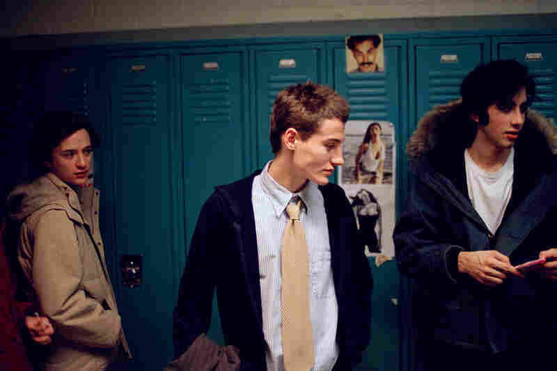 Collin LaFleche, New York. LaFleche's untitled series shows freshmen from high schools around Manhattan and Brooklyn.