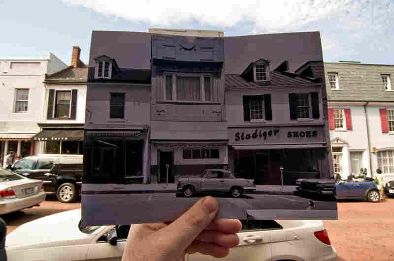 Main Street, Annapolis, Md., June 2009  Original photo:160-166 Main Street, Annapolis, Anne Arundel County, Md., 1964