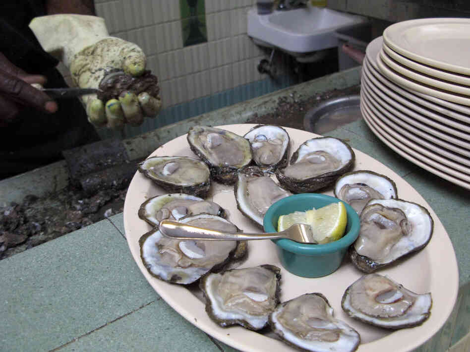 Casamento's Restaurant in New Orleans is famous for its fresh raw oysters on the half shell. Customers say the FDA was overreaching with a plan to require Gulf oysters to be treated to rid them of a potentially deadly bacteria.