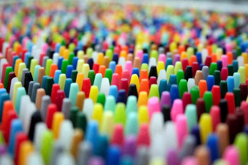 Crayons And Choice  A Headache In 120 Colors   The Picture