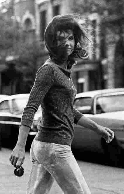 Windblown Jackie, which Galella calls his Mona Lisa, shows Jacqueline Kennedy Onassis on Madison Avenue, Oct. 7, 1971.