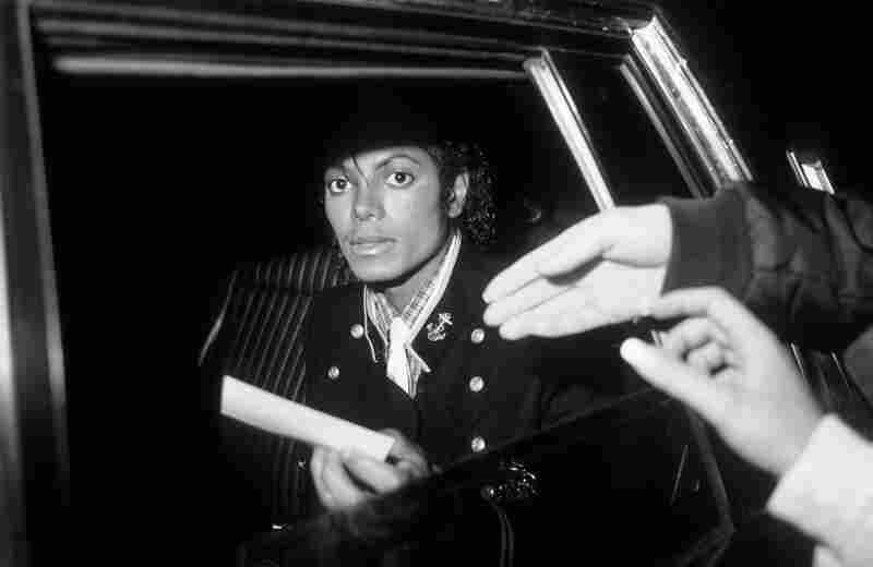 Michael Jackson leaves The Helmsley Palace in New York City.