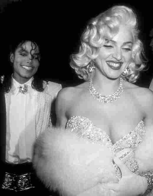 Jackson and Madonna attend an Academy Awards after-party March 25, 1991.
