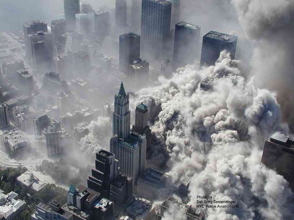 These photos were taken by the New York City Police Department just after the Sept. 11 attacks in 2001. ABC News claims to have obtained them under the Freedom of Informat