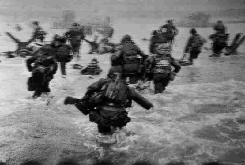 Robert Capa's monumental images of the Normandy landings are some of the most invaluable in Magnum's archive. A founder of Magnum, Capa documented the first wave of American troops landing at dawn on June 6, 1944, in Normandy, France.