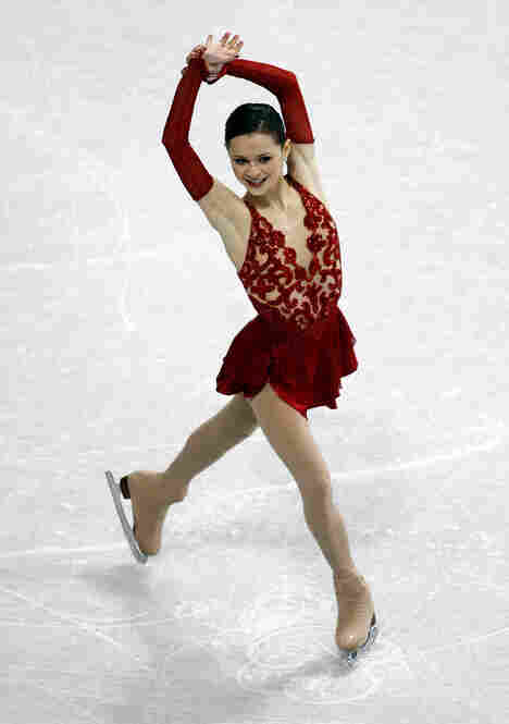 Sasha Cohen of the U.S., known for her elegant skating and her elegant fashions, won the silver medal at the 2006 games in Torino, Italy. Outfits like this, by the way, cost thousands of dollars.
