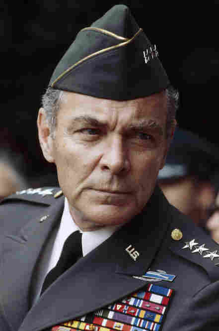 Gen. Alexander Haig in 1978, while serving as supreme allied commander of NATO. Haig's military career spanned more than 30 years, and he also served as a close adviser to three U.S. presidents.