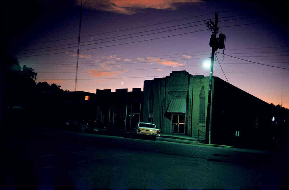 William Eggleston, Downtown Morton, Miss., circa 1969-70