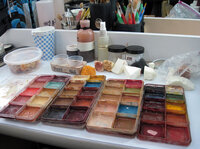 It takes an extensive palette to commit makeup murders.