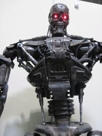 The T-600 from <i>Terminator Salvation.</i>
