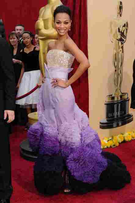 """Sixteen Care Bears were killed to make this dress."" (Actress Zoe Saldana, star of Avatar.)"