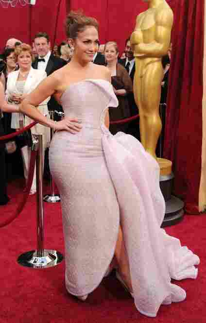 """""""Jennifer Lopez thought the bubble wrap the dress came in was part of the ensemble."""""""