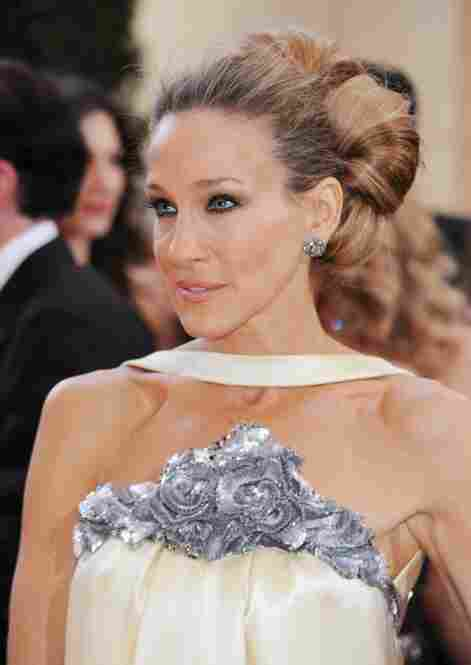 """They really did a shoddy job of hiding the seam when they reattached her head.""  (Sarah Jessica Parker)"