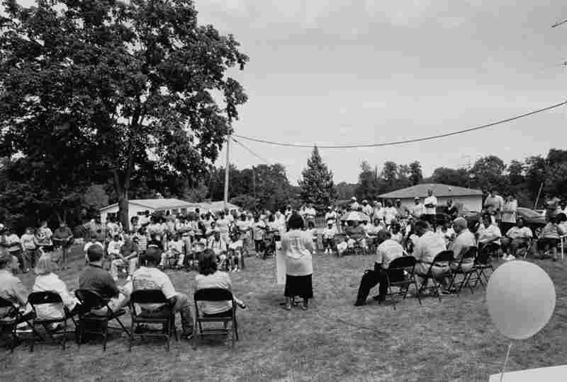 Zion Hill Historic Marker Dedication, 2008. A few communities, such as Zion Hill, are actively moving for historic recognition.