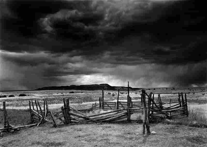 Old Corral and Approaching Storm, Antelope Flats, 2005