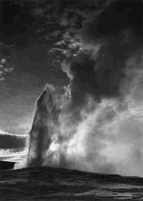 Old Faithful Geyser, Yellowstone National Park, Wyo.