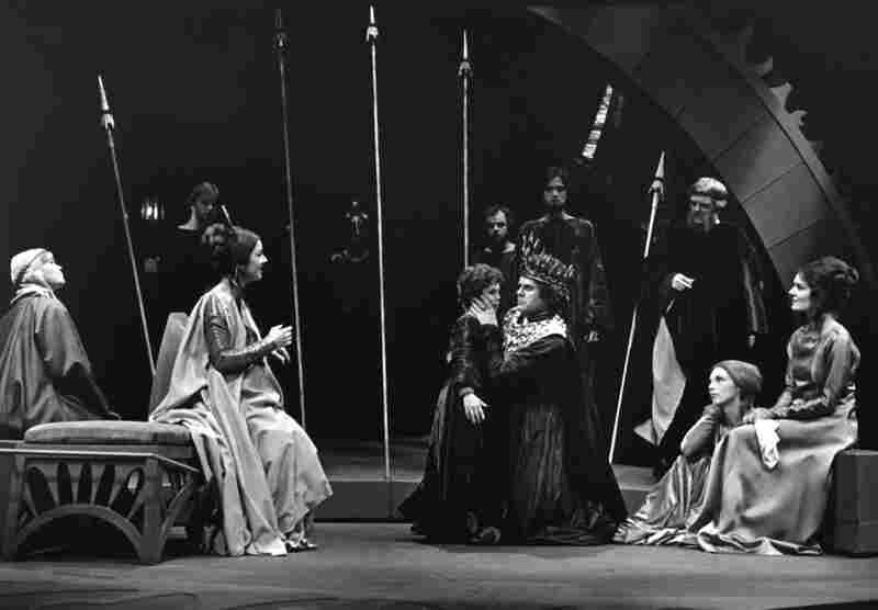 With her 1975 production of The Winter's Tale (starring James Edmondson, pictured center) Audrey Stanley became the first woman to direct a Shakespearean play for OSF.