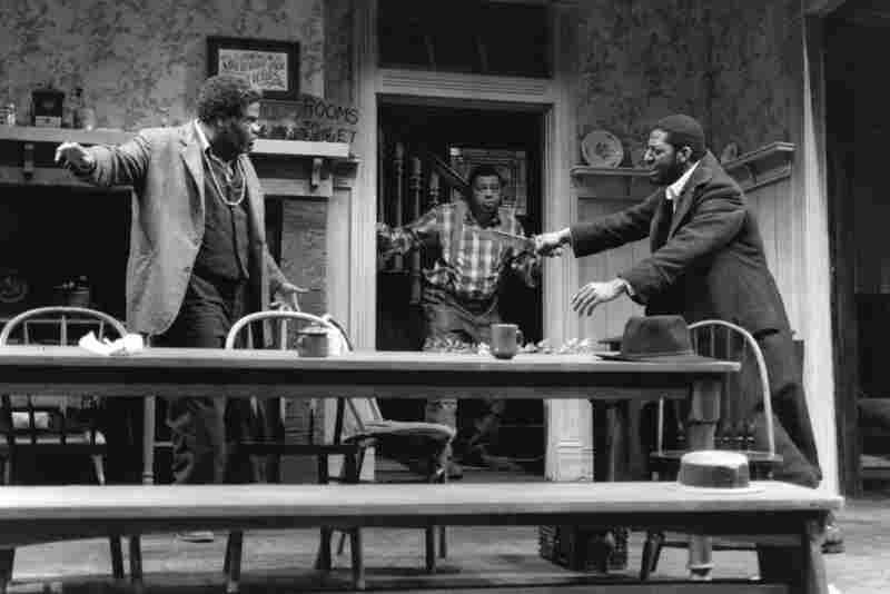 The festival produced its first August Wilson play in 1993. Joe Turner's Come and Gone (with LeWan Alexander [from left], J.P. Phillips and Derrick Lee Weeden) is the second installment of Wilson's chronicle of the African-American experience.