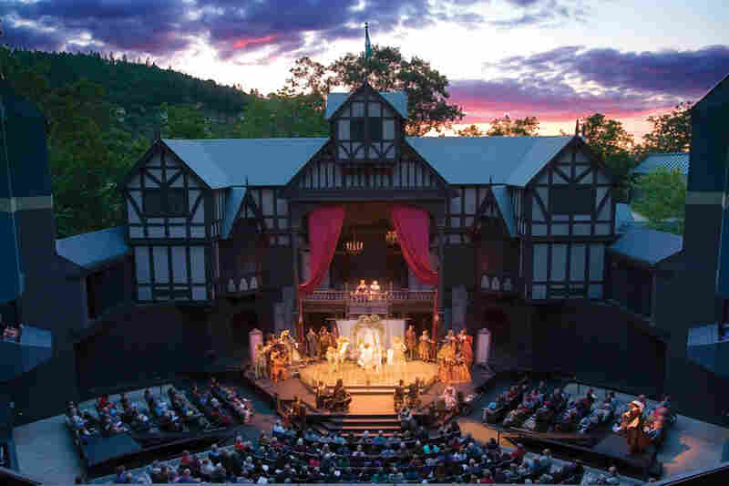 The Tony Award-winning Oregon Shakespeare Festival started off as outdoor summer theater in 1935.